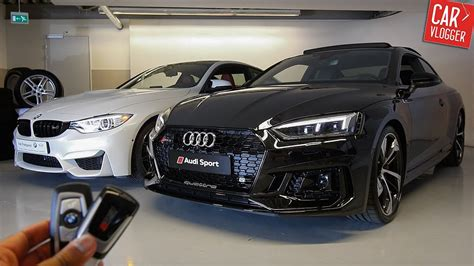 Side By Side The New Audi Rs5 Vs Bmw M4 Competition