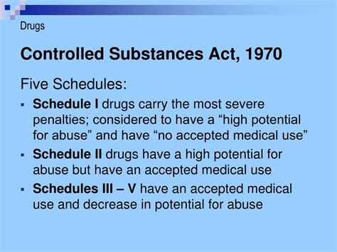 controlled substances powerpoint  id