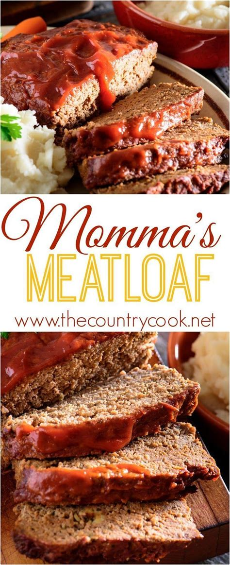 There are a few perks to being able to cook a mean meatloaf. Momma's best meatloaf | Recipe | Food recipes, Best meatloaf, Food