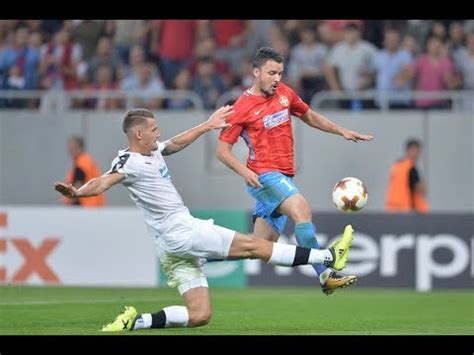 Scarita Lui Budescu ! Steaua  Viktoria Plzen 30 Uefa