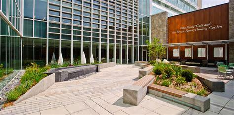 of missouri health care healing garden courtyard