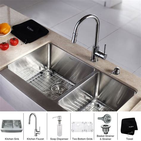 60 40 Sink Faucet Placement