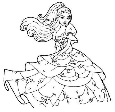 Barbie Para Colorear
