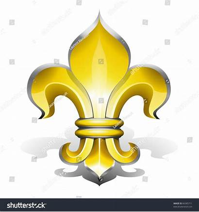 Symbol French Royalty Lys Fleur Antique Shutterstock