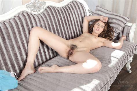 Russian Hairy Teen Model Lola Sensual