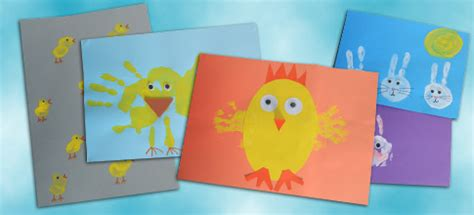 early years craft ideas easter finger and print ideas the consortium 4292