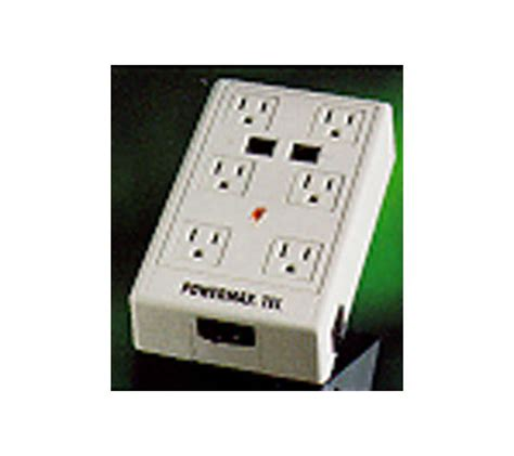 panamax surge protector panamax gmp1600 powermax six surge protector w tel 1407