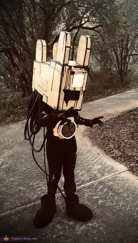 projectionist  bendy   ink machine costume