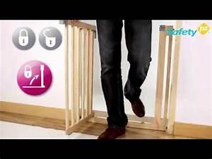 Türschutzgitter Zum Klemmen : safety 1st easy close wood t rschutzgitter zum klemmen youtube ~ Frokenaadalensverden.com Haus und Dekorationen