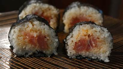 Sushi Roll Spicy Tuna Series Chef Recipes