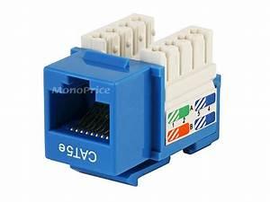 Monoprice 5371 Blue Cat5e Punch