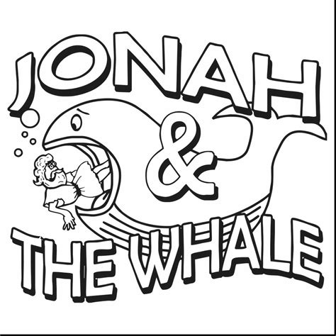 jonah   whale coloring book  kids
