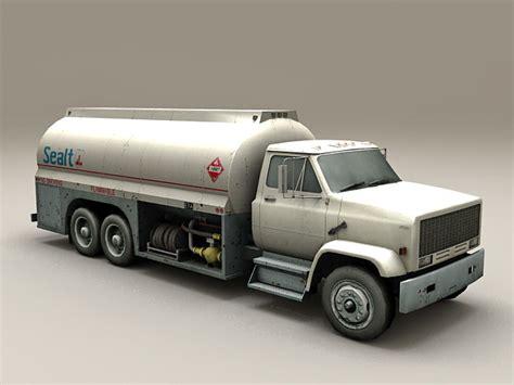 airport aviation fuel truck  model autodesk fbxobject