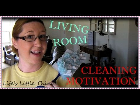 Cleaning Motivation Let's Clean The Living Room!! Youtube