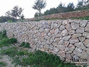 Trabajos con Piedra Natural en Ibiza Piedra Seca Muro Picapedrero Ibiza Antonio Martos