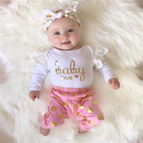 autumn baby girl clothing set newborn toddler
