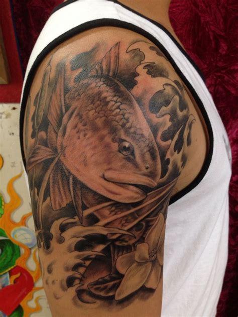 redfish tattoo fish tattoo ideas sleeve tattoos