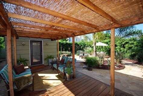 Cool Idea For Pergola Cover, And I Love The Wood Decking