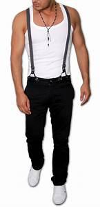 Hose Mit Hosenträger Herren : neu chino hose hosentr ger herren hose trousers jeans w29 bis w36 k752 4 ebay ~ Frokenaadalensverden.com Haus und Dekorationen