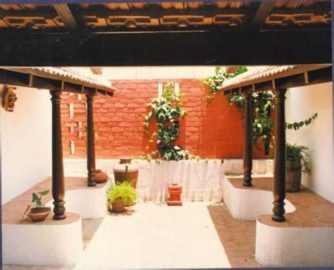 small chettinad type  courtyard    floor   dr ramamuthi house  chennai