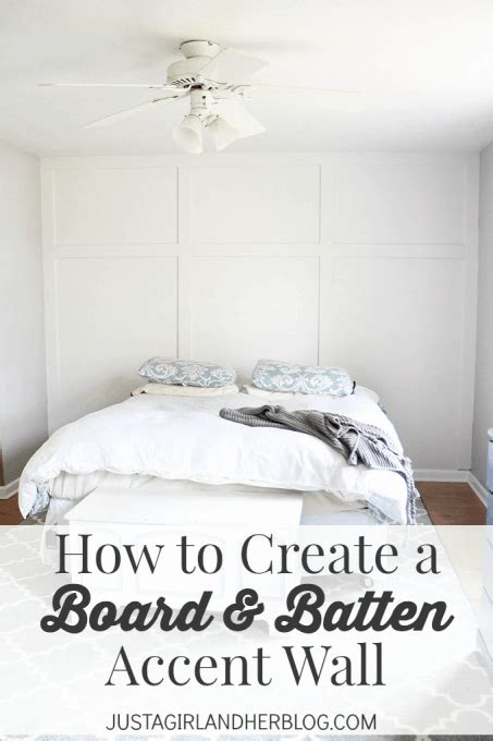create  board  batten accent wall   girl