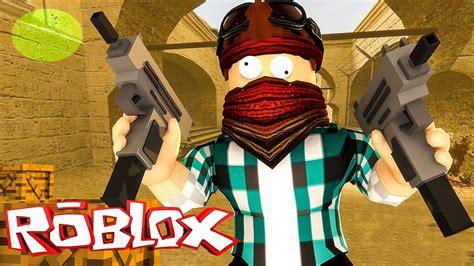 Jogando Roblox Cs Go Roblox Counter Blox Drone Fest