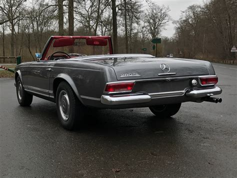 mercedes 280 sl pagode mercedes 280 sl pagode les annonces collection