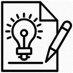 Icon Creative Idea Development Innovative Creativity Editor