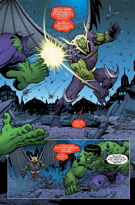preview thanos  hulk  comic vine