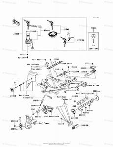 Kawasaki Motorcycle 2011 Oem Parts Diagram For Ignition
