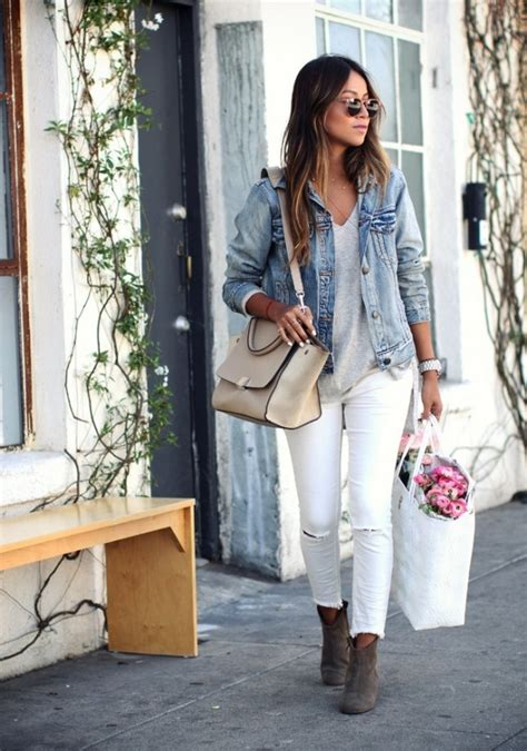 Cute Outfit Ideas of the Week #42 White Denim After Labor Day | Mom Fabulous
