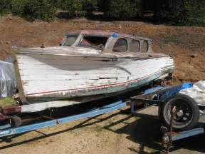 Pictures of Gar Wood Speed Boats For Sale