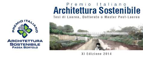 """Design Ecosostenibile, """"premio Architettura Sostenibile"""