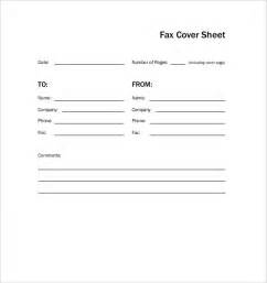 simple fax cover sheet thevictorianparlor co