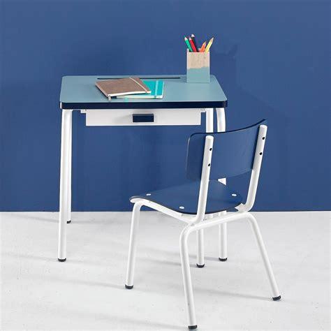 bureau bleu bureau enfant régine bleu jade les gambettes design enfant