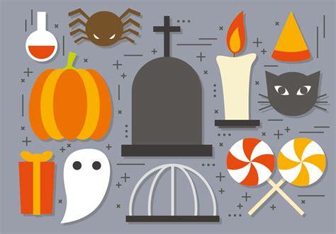 fun vector halloween icons   vectors