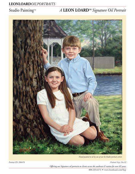 Heirloom oil painting by LEON LOARD™ Oil Portraits Staff ...