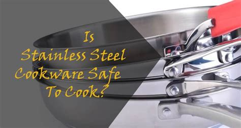 stainless steel cookware safe  cook