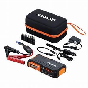 Auto Jmp : suaoki 18000mah auto jump starter batterie puissance chargeur led lampe sos neuf ebay ~ Gottalentnigeria.com Avis de Voitures