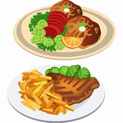 Dinner Clipart Delicious Transparent Meal Foods Clip