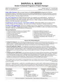 project manager resume technical skills doc 714982 information technology it and project manager resume bizdoska