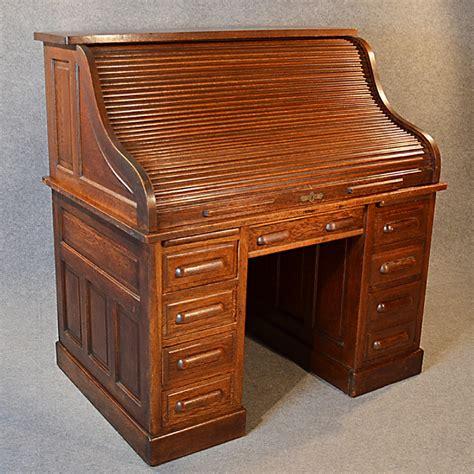 antique roll top desk manufacturers antique roll top writing bureau desk oak edwardian globe