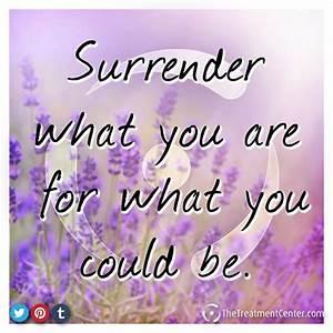 Best 25+ Surren... Daily Surrender Quotes