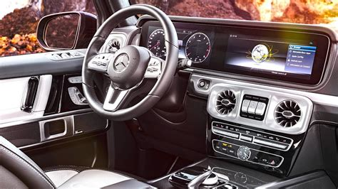 New Mercedes G Class Interior 2018 World Premiere New