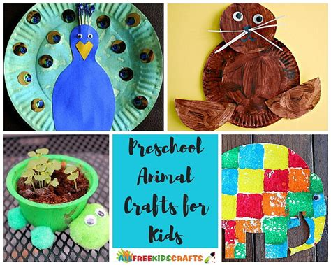 100 preschool animal crafts and more allfreekidscrafts 576 | AFKC Preschool Animal Crafts collage ExtraLarge1000 ID 1652148