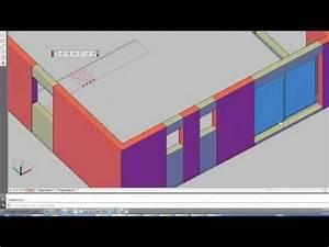 tutoriel i apprendre la 3d sur autocad en moins de 25 m With awesome dessiner plan maison 3d 0 apprendre autocad en 1h tutoriel realisation maison 3d
