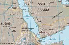 Map showing Saudi Arabia, Yemen, and other Arab and ...