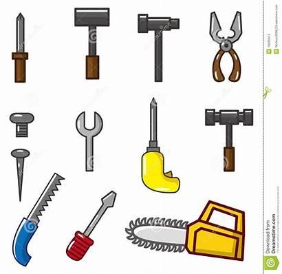 Cartoon Tool Het Tools Clipart Icon Beeldverhaal