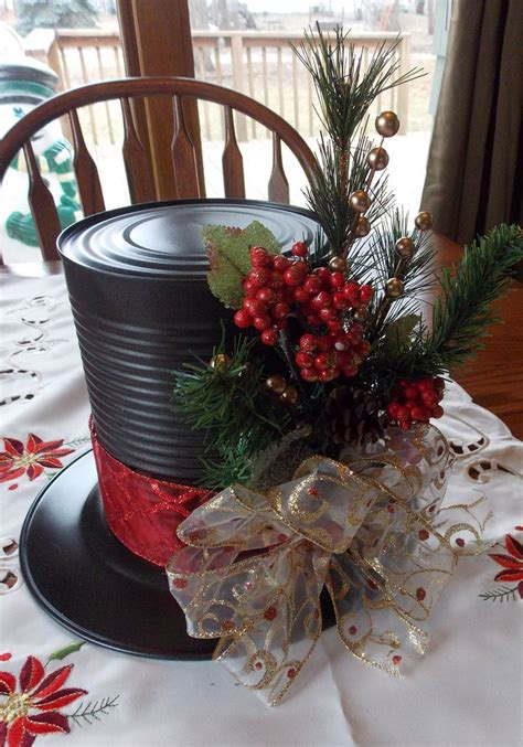 ideas  top hat centerpieces  pinterest