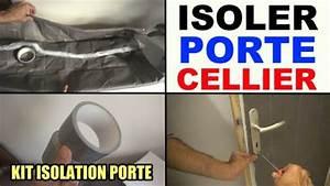 Kit Isolation Porte De Garage : isoler une porte de cellier de garage de service kit ~ Nature-et-papiers.com Idées de Décoration